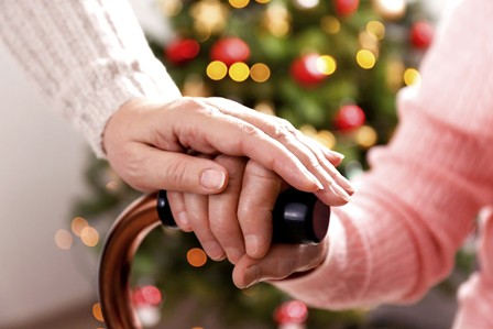 All Heart Home Care Holiday Senior Caregiver