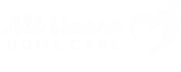 All Heart Home Care San Diego, CA - Coronado, CA Caregiver Logo