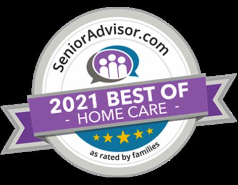 All Heart Home Care Senior Advisor 2021 Best in Home Care San Diego