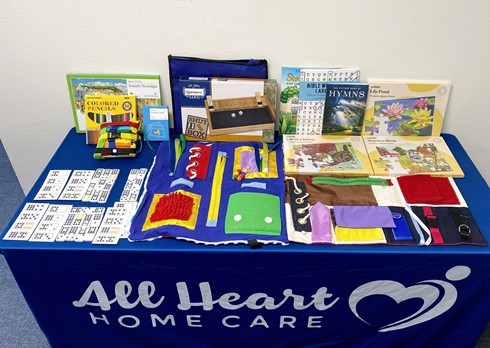 All Heart Home Care San Diego Alzheimer's & Dementia Senior Memory Engagement Activities