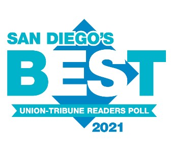 2021 All Heart Home Care Awarded The Union-Tribune San Diego's Best Non-Medical In-Home Care